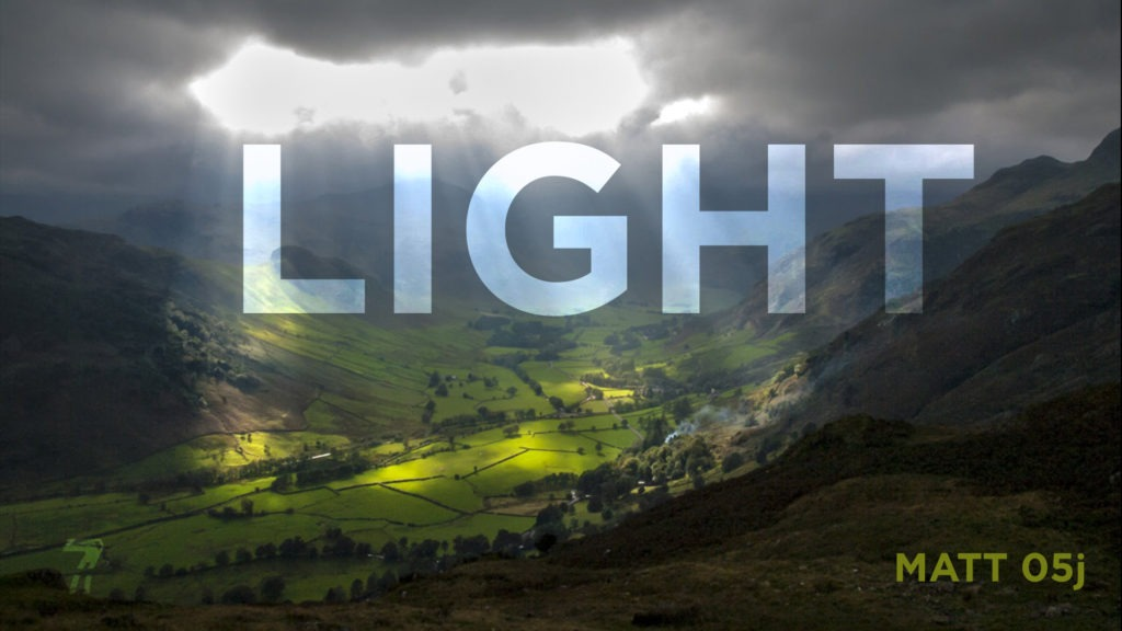 Matthew 05j – Light