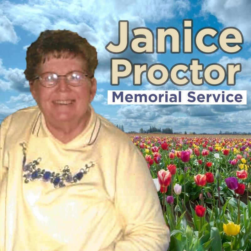 Janice Proctor Memorial