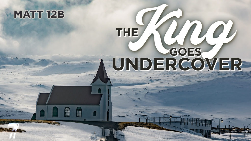 Matthew 12b – The King Goes Undercover