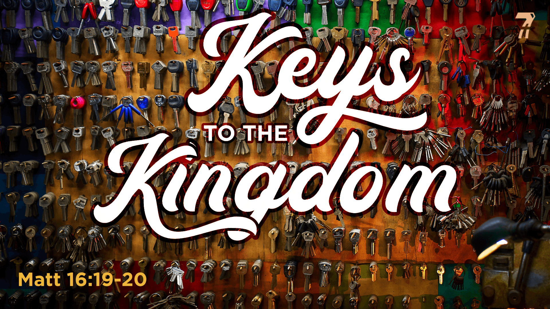 Matthew 16c – Keys to the Kingdom