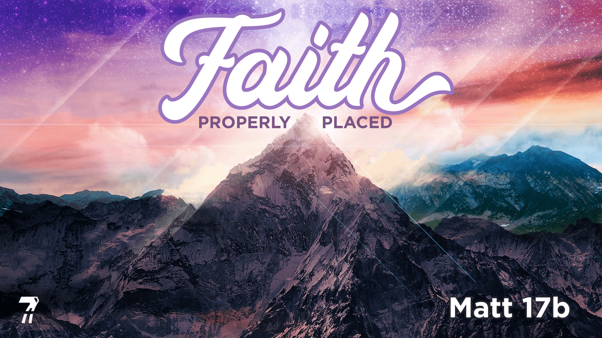 Matthew 17b – Faith Properly Placed